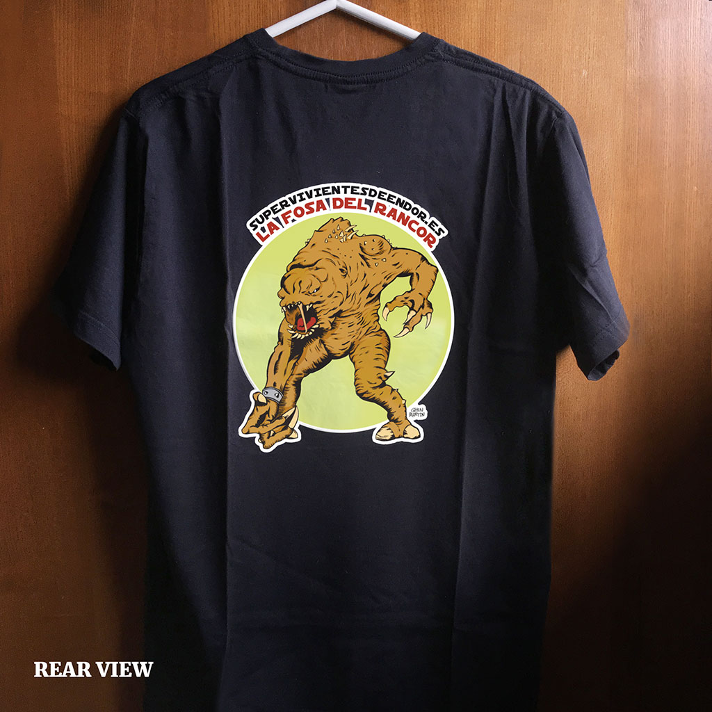 Jose Martin Freelance Illustrator and Graphic Designer La Fosa del Rancor Star Wars Fan Blog T-Shirt Design